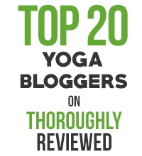 Yoga Bloggers Badge